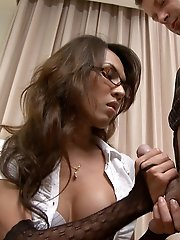 Ladyboy Office Sex!