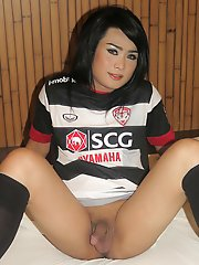 Ladyboy Aum - Giantress Femboy Breeding